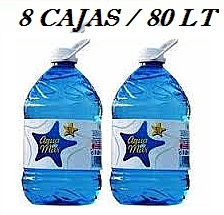 PACK 8 CAJAS 80LT AGUA DE MAR 5 LT  LACTODUERO**PORTES REBAJADOS EN UN 80% **