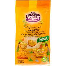 BISCUITS JUNGLA sin gluten sin lactosa 100G NOGLUT