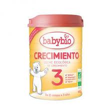 LECHE INFANTIL 3 CRECIMIENTO 10M 900GR BABYBIO