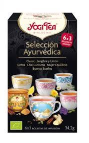 SELECCION AYURVEDICA 6X3 BOLS YOGI TEA