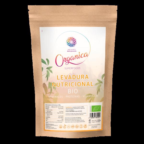 LEVADURA NUTRICIONAL 250GR organica super food MUNDO ARCOIRIS