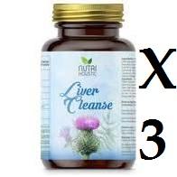 LIVER CLEAN 3 unidades 60 CAPSULAS NUTRI HOLISTIC