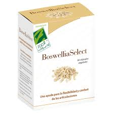 BOSWELLIA SELECT 250MG 60 CÁPSULAS 100 % NATURAL