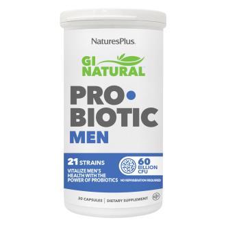 GI NATURAL probiotic men 30cap NATURE´S PLUS