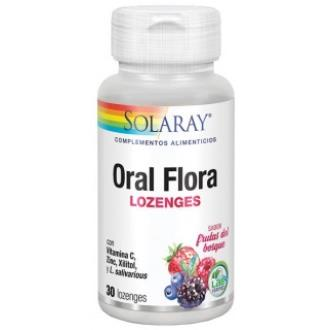 ORAL FLORA LOZENGES 30COMP SOLARAY