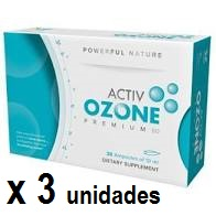 ActivOzone PREMIUM60 30 ampollas pack 3 unidades