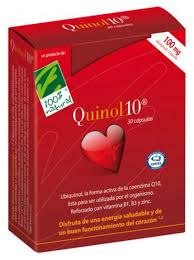 QUINOL 10 100MG 60 PERLAS 100 % NATURAL