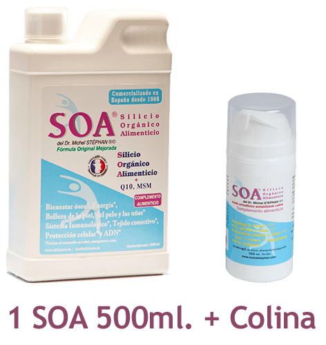 Pack SOA©® Bebible 500ml. + SOA©® Colina