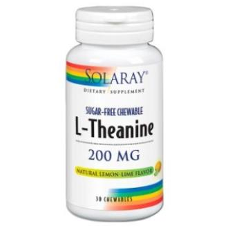 THEANINE 200MG 30COMP SOLARAY