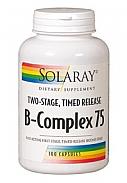 VITAMINA B COMPLEX 75 100CAP SOLARAY