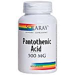 PANTOTENIC ACID 500MG 100CAP SOLARAY