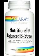 NUTRITIONALLY BALANCED B STRESS 100CAP SOLARAY