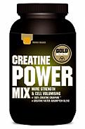 CREATINE POWER MIX LIMON 1 KG  Gold Nutrition