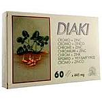 DIAKI DIABETES 60CAP KILUVA - ABAD