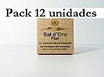 FLOR DE SAL ESCAMADA 125GX 12 UNIDADES SAL D´ORO