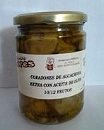 Corazones de alcachofas aceite oliva 1/2 Kg LORES