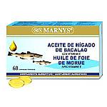 ACEITE HIGADO BACALAO  60 CAP MARNYS
