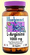 L ARGININA 1000MG 50COMP  BLUEBONNET