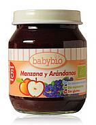 POTITOS MANZANA ARANDANOS 4M 130GR BABYBIO