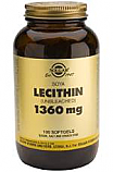 LECITINA 1360MG 100CAP SOLGAR