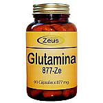 L- GLUTAMINA CAPSULAS ZE 877MG 90CAP ZEUS