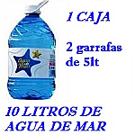 PACK 1 CAJAS 10LT AGUA DE MAR 5LT LACTODUERO