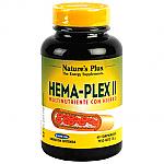 HEMA PLEX II COMPLEMENTO HIERRO 60COMP NATURE´S PLUS