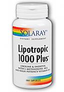 LIPOTROPIC 1000 PLUS 100CAP SOLARAY