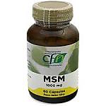 MSM metilsulfonilmetano 1000MG 60 CAP CFN