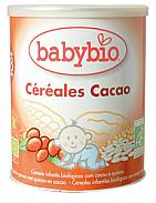 PAPILLA CEREALES CACAO BIO 8M 220GR BABYBIO