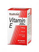 VITAMINA E 200IU 60C HEALTHAID