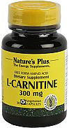 CARNITINA-L CAPSULAS 300MG 30CAP NATURE´S PLUS