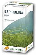 VALLESOL ESPIRULINA 100 COMP. DIAFARM
