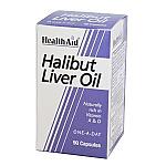 Aceite de hígado de halibut HealthAid