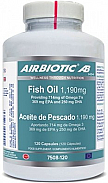 ACEITE DE PESCADO OMEGA 3 + EPA  + DHA 119MG 60CAP AIRBIOTIC