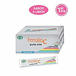 FERROLIN C POCKET DRINK 24 SOBRES ESI