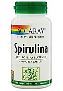 ESPIRULINA 410 MG 100 CAP SOLARAY