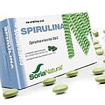 ESPIRULINA 60 CAP SORIA NATURAL