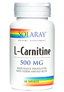 L CARNITINA 500MG 30CAP SOLARAY
