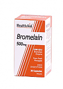 Bromelina 500 mg 30cáps HealthAid