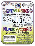 XYLITOL AZUCAR DE ABEDUL 500GR MUNDO ARCOIRIS