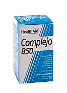 Complejo B50 30Cáps HealthAid