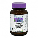 ACETIL L CARNITINA 500MG 30CAP BLUEBONNET