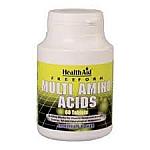 MULTI AMINO ACIDS 60TAB HEALTHAID