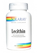 LECITINA OIL FREE 100CAP SOLARAY