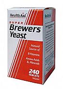 Levadura de cerveza 300 mg 240 Comp HealthAid