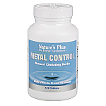 METAL CONTROL 120COMP NATURE´S PLUS