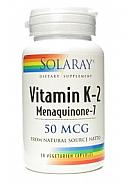 K2 MENAQUINONE 7 30CAP SOLARAY