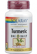 TURMERIC 30 CAP 600MG SOLARAY