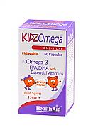 KidzOmega™ cápsulas masticables 60 Cáps HealthAid